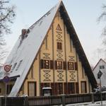 Foto: Putjatinhaus im Winter